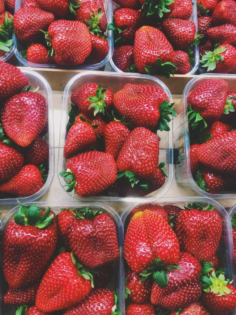 Market Strawberries