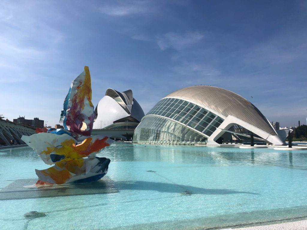 Park of Arts and Sciences in Valencia